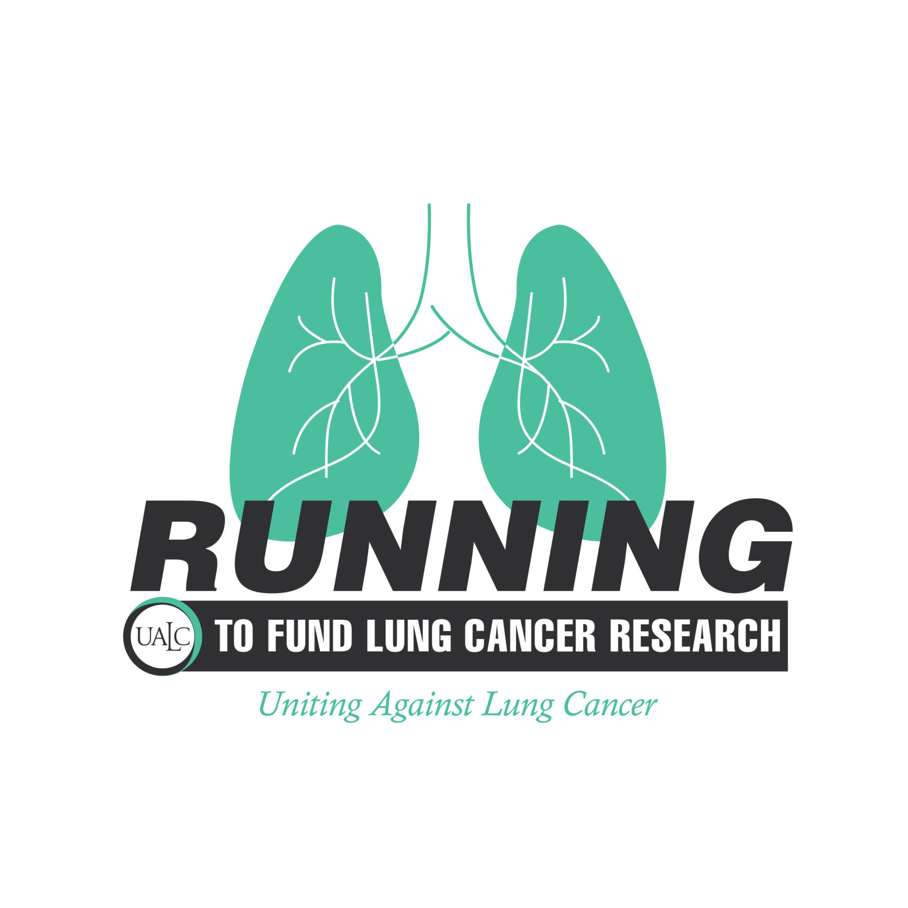 Running to Fund Lung Cancer logo