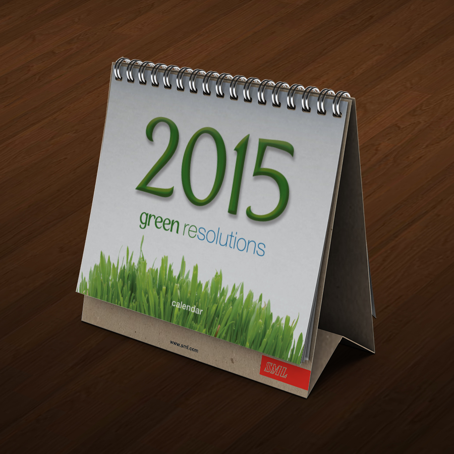 SML Green Resolutions Calendar