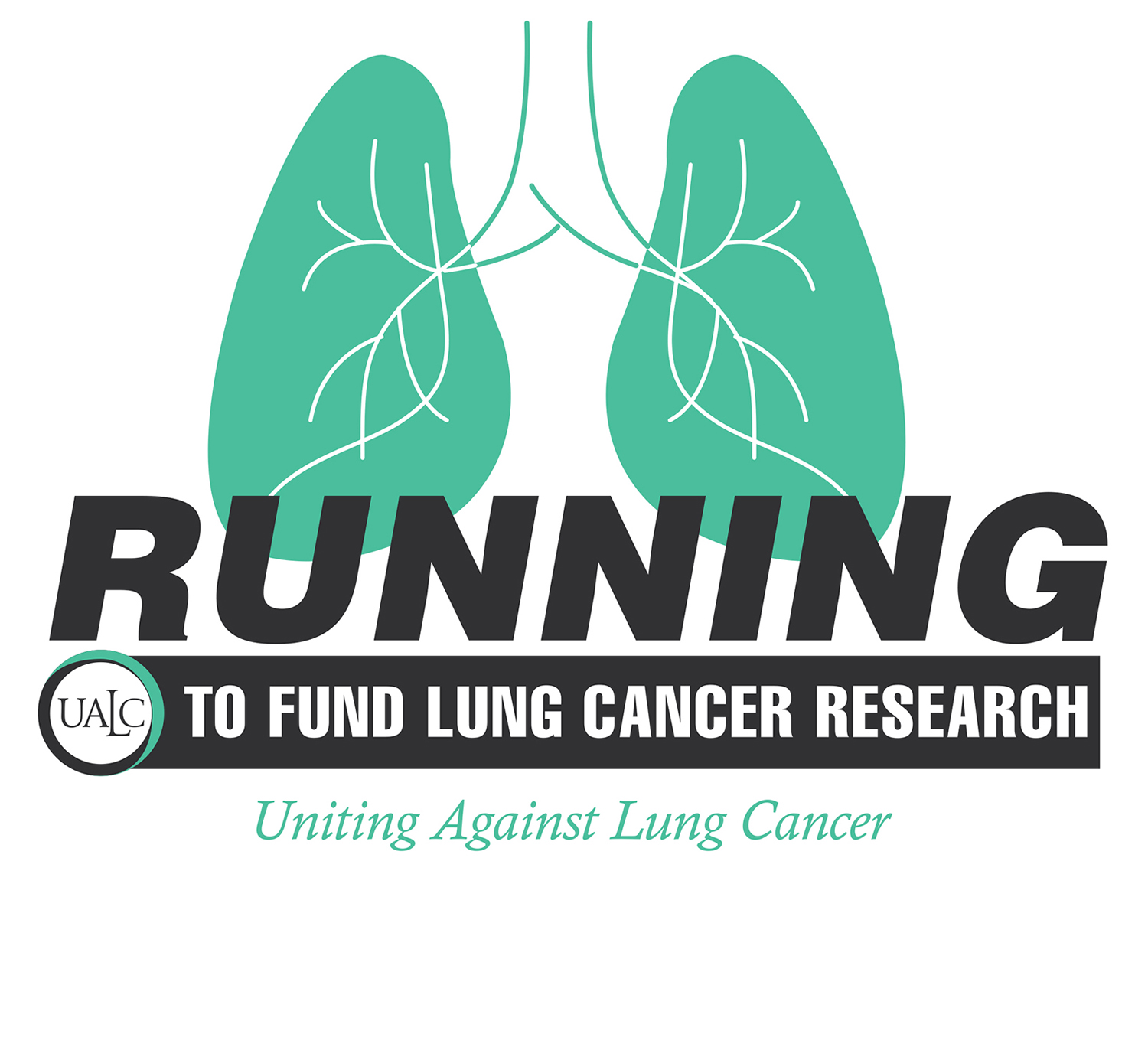 Running to Fund Lung Cancer Research logo